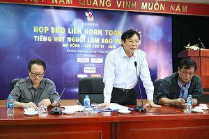 Liên hoan toàn quốc 'Tiếng hát người làm báo Việt Nam' năm 2018