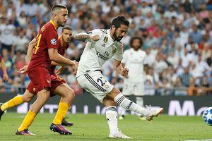 Real vs Roma (1-0, H2): Isco đá phạt ghi bàn đẹp mắt