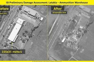 Israel hủy diệt kho tên lửa phòng không Syria