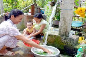 Tăng mức tín dụng cho công trình nước sạch nông thôn
