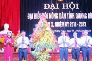 Đại hội Hội ND Quảng Bình: Tiếp sức cho hội viên vươn lên làm giàu