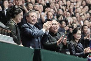 Khoảnh khắc lịch sử: Tổng thống Hàn Quốc lần đầu phát biểu trước người dân Triều Tiên