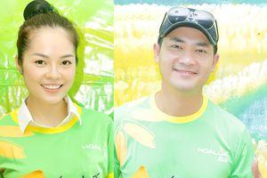 Minh Luân thoải mái đi từ thiện cùng 'tình cũ' Dương Cẩm Lynh