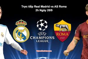 Real Madrid vs AS Roma, Champions League 2019: ngày Santiago Bernabeu thiếu vắng Ronaldo