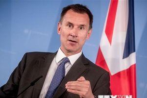 Ngoại trưởng Anh Hunt hội đàm kín với lãnh đạo dân sự Myanmar