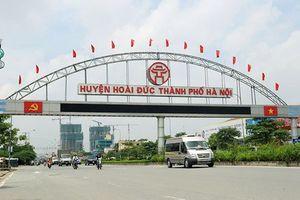 Hà Nội thành lập Ban chỉ đạo, huyện Hoài Đức sẽ thành quận Hoài Đức vào năm 2020