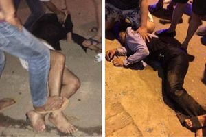Nữ chủ tiệm vàng Sơn La vật lộn với nhóm cướp có súng