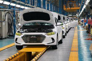 Số tiền nhập linh kiện ô tô gấp ba lần nhập xe nguyên chiếc