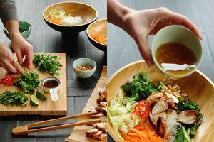 Cách làm miến trộn gà ngon hơn nhà hàng cho bữa cơm ngày mưa thêm hấp dẫn