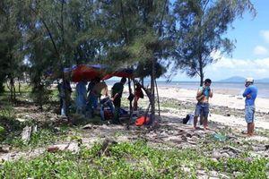 Quảng Nam: Phát hiện thi thể người đàn ông trôi nổi trên biển