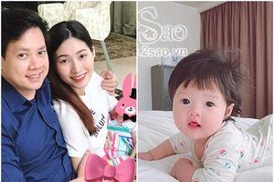 HOT: Lộ ảnh cận mặt 'tiểu công chúa' của hoa hậu Đặng Thu Thảo và ông xã doanh nhân