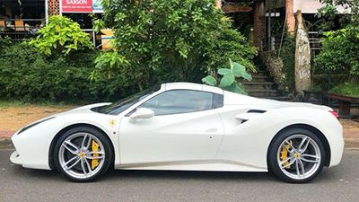 Đại gia Bình Phước tậu siêu xe Ferrari 488 Spider hơn 15 tỷ