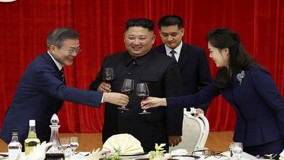 Cận cảnh tiệc chiêu đãi Tổng thống Moon Jae-in tại Triều Tiên