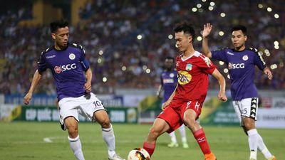 Phá dớp sân Pleiku, Hà Nội trút mưa bàn thắng vào lưới HAGL