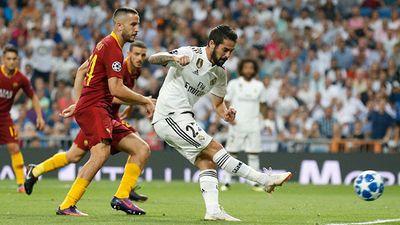 Real vs Roma (2-0, H2): Gareth Bale bứt tốc và ghi bàn