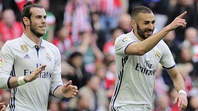 Real vs Roma (0-0, H1): Bale tiếc nuối khi dứt điểm chệch cột