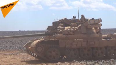 Quân đội Syria cắt đường sống của IS tại tử địa Al-Safa