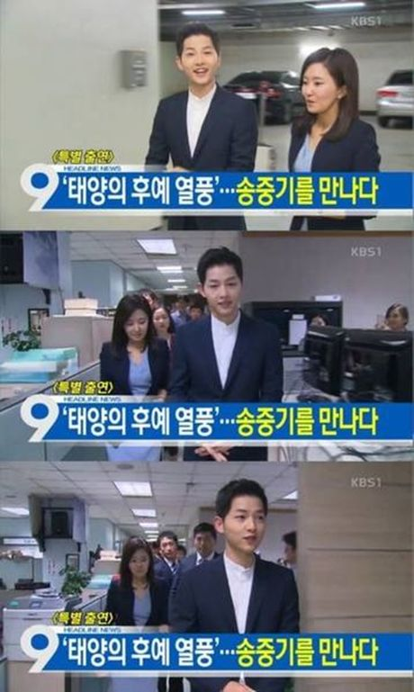 Song Joong Ki noi ve tin don hen ho Song Hye Kyo tren kenh thoi su - Anh 1