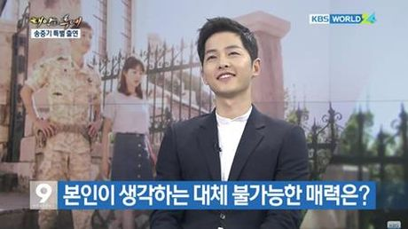 Song Joong Ki noi ve tin don hen ho Song Hye Kyo tren kenh thoi su - Anh 4