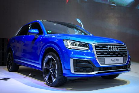 Can canh Audi Q2 2017 - chiec SUV do thi tai Viet Nam - Anh 1