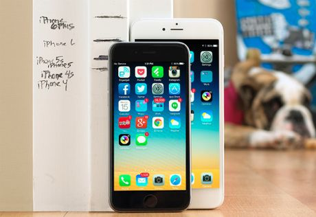 Gia iPhone 6 xach tay giam bang iPhone 5s - Anh 1