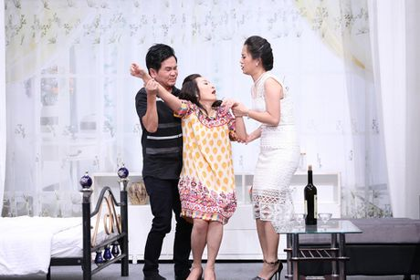 Truong Giang lien tuc om hon tinh cu Tran Thanh o On gioi - Anh 10