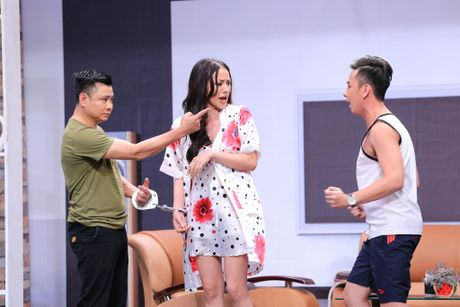 Truong Giang lien tuc om hon tinh cu Tran Thanh o On gioi - Anh 9