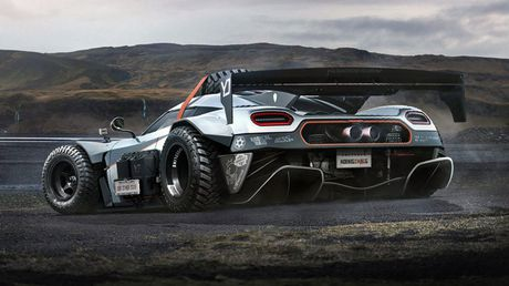Koenigsegg One:1 phien ban…off-road - Anh 2