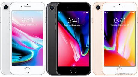 Thong so va cau hinh chinh thuc cua iPhone 8 - Anh 1