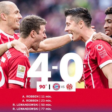 Bayern Munich 4-0 Mainz: Man tra tan tai Allianz Arena - Anh 10