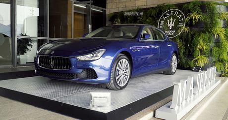 "Lai thu xe sang Maserati tai Da Nang: ""Thau cam"" dang cap va su tinh te - Anh 1"