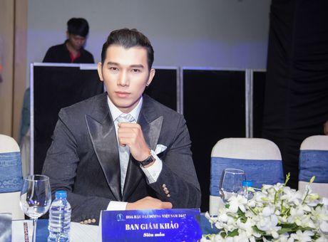 Sieu mau Ngoc Tinh ngoi ghe giam khao cuoc thi Nam Vuong Dai su Hoan vu 2017 - Anh 5