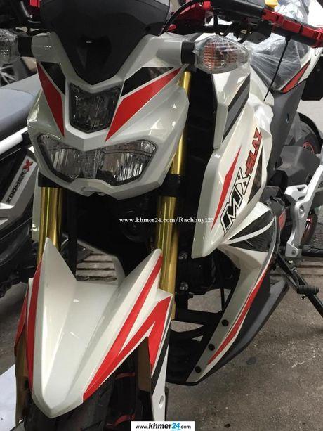 Yamaha M-Slaz 125 xuat hien o Viet Nam len bao nuoc ngoai - Anh 3