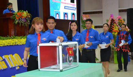 Chi Pham Thi Thanh tai dac cu Bi thu Tinh doan Quang Nam - Anh 3