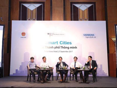 Siemens ho tro Viet Nam phat trien thanh pho thong minh - Anh 1