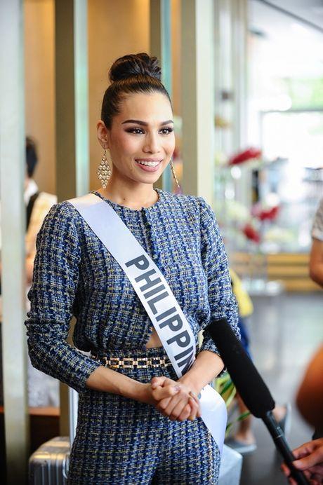 Hoa hau cac nuoc do xo ve Viet Nam chuan bi'Miss Grand International 2017' - Anh 3