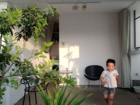Nha pho trang muot dep tinh te giua hem Sai Gon - Anh 12