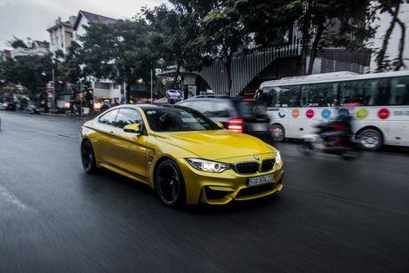 Hinh anh BMW M4 Coupe 'mau doc' Yellow Austin dao pho Sai Gon - Anh 11
