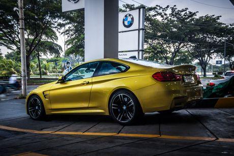 Hinh anh BMW M4 Coupe 'mau doc' Yellow Austin dao pho Sai Gon - Anh 8