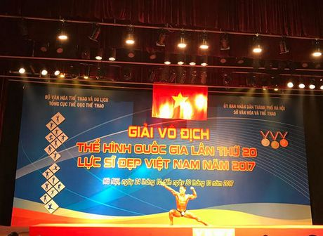 Luc si Pham Van Mach tuot HCV giai vo dich The hinh quoc gia nam 2017 - Anh 2